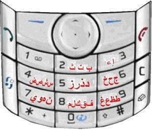 Keypad Arabic