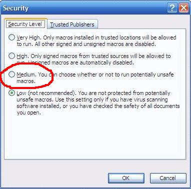 security macro