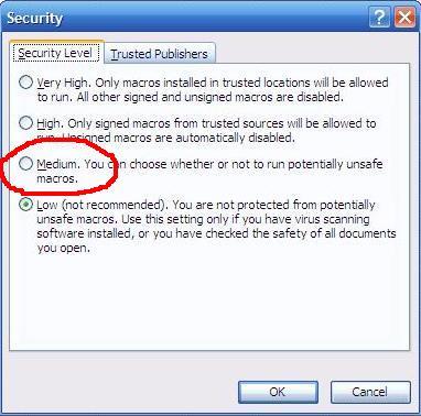 security macro